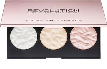 Makeup Revolution Strobe Lighting palette d'enlumineurs