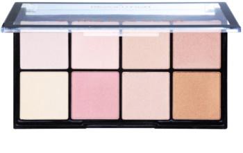 Makeup Revolution Ultra Pro Glow палетка хайлайтерів
