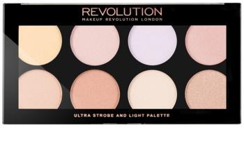 Makeup Revolution Ultra Strobe and Light palette illuminatrice