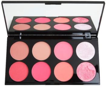 Makeup Revolution Ultra Blush палитра с ружове