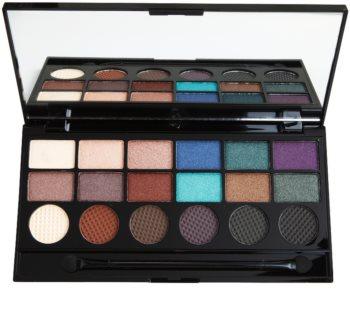 Makeup Revolution Welcome To The Pleasuredome paleta očních stínů