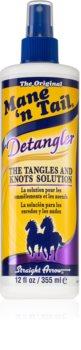 Mane 'N Tail Detangler Leave-in Spray voor Makkelijk doorkambaar Haar