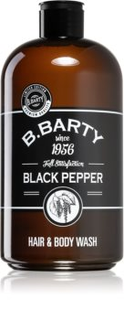 Bettina Barty Black Pepper 2 in 1 gel de dus si sampon