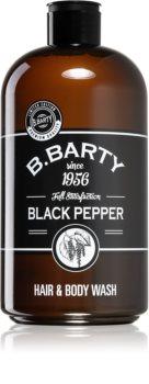 Bettina Barty Black Pepper gel za prhanje in šampon 2v1