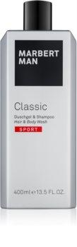 Marbert Man Classic Sport gel de ducha para hombre 400 ml