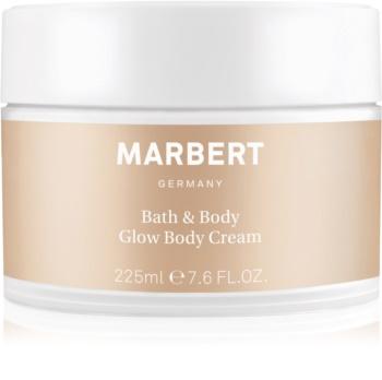 Marbert Bath & Body Glow crème scintillante corps