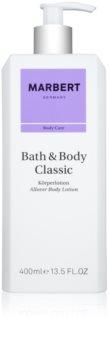 Marbert Bath & Body Classic lapte de corp pentru femei