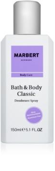 Marbert Bath & Body Classic desodorante en spray para mujer