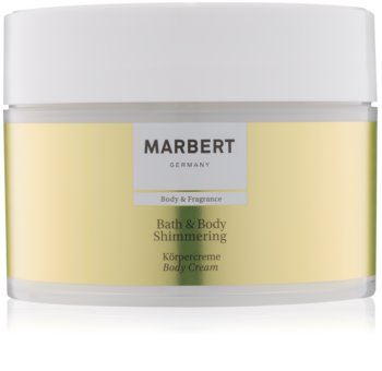 Marbert Bath & Body Shimmering creme corporal