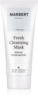 Marbert Fresh Cleansing máscara facial de argila para limpeza para pele normal a mista