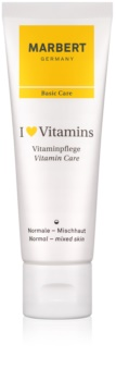 Marbert Basic Care I ♥ Vitamins creme suave para pele normal a mista