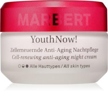 Marbert Anti-Aging Care YouthNow! noćna krema protiv bora za obnavljanje kožnih stanica
