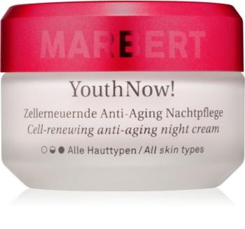Marbert Anti-Aging Care YouthNow! αντιρυτιδική κρέμα νύχτας για την ανάκτηση των  κυττάρων του δέρματος