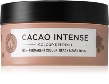 Maria Nila Colour Refresh Cacao Intense jemná vyživujúca maska bez permanentných farebných pigmentov