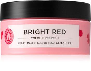 Maria Nila Colour Refresh Bright Red Sanfte nährende Maske ohne permanente Farbpigmente