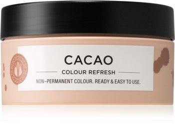 Maria Nila Colour Refresh Cacao jemná vyživující maska bez permanentních barevných pigmentů
