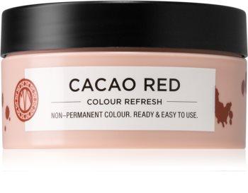Maria Nila Colour Refresh Cacao Red jemná vyživující maska bez permanentních barevných pigmentů