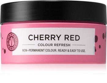 Maria Nila Colour Refresh Cherry Red jemná vyživující maska bez permanentních barevných pigmentů