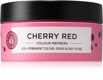 Maria Nila Colour Refresh Cherry Red Sanfte nährende Maske ohne permanente Farbpigmente