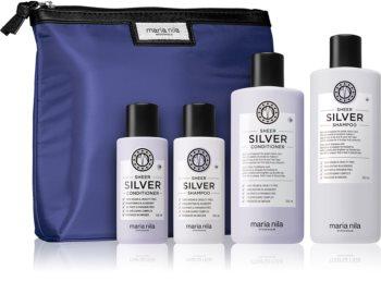Maria Nila Sheer Silver kosmetická sada (neutralizující žluté tóny) pro ženy
