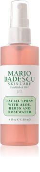 Mario Badescu Facial Spray with Aloe, Herbs and Rosewater spray tonificante per il viso illuminante e idratante