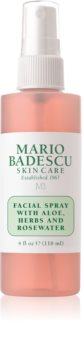 Mario Badescu Facial Spray with Aloe, Herbs and Rosewater tonizująca mgiełka do twarzy do rozjaśnienia i nawilżenia