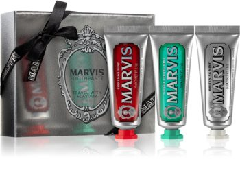 Marvis Flavour Collection Ensemble de soins dentaires II.