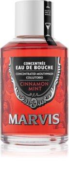 Marvis Cinnamon Mint bain de bouche concentré pour une haleine fraîche