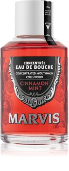 Marvis Cinnamon Mint συμπυκνωμένο στοματικό διάλυμα για φρέσκια αναπνοή