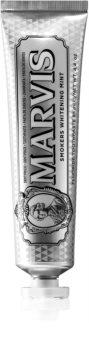 Marvis Smokers Whitening Mint pasta de dinti cu efect de albire pentru fumatori
