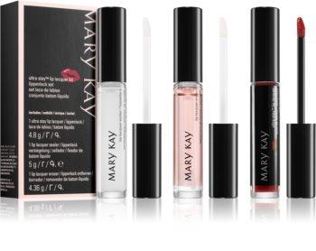 Mary Kay Ultra Stay Lip Lacquer Kit palette di trucchi Cherry (per le labbra) colore
