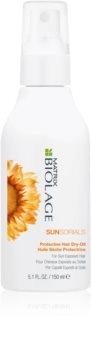 Biolage Essentials SunSorials óleo protetor para cabelo danificado pelo sol