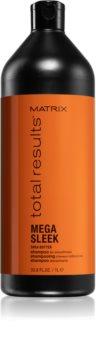 Matrix Total Results Mega Sleek Shampoo  voor Onhandelbaar en Pluizig Haar