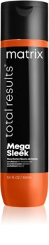 Matrix Total Results Mega Sleek après-shampoing pour cheveux indisciplinés et frisottis