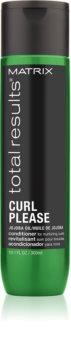 Matrix Total Results Curl Please condicionador para cabelo ondulado
