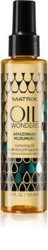 Matrix Oil Wonders Amazonian Murumuru vyživující olej pro lesk vlnitých a kudrnatých vlasů