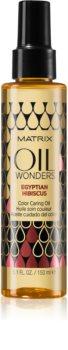 Matrix Oil Wonders Egyptian Hibiscus óleo de cuidado para proteção da cor