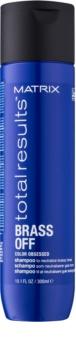 Matrix Total Results Brass Off shampoing neutralisant les reflets jaunes