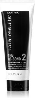 Matrix Total Results The Re-Bond regenerierende Pre-Conditioner-Pflege für schwaches und strapaziertes Haar