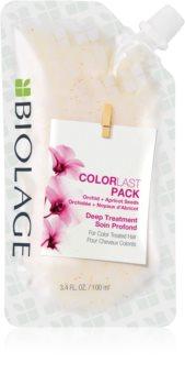 Biolage Essentials ColorLast mélyen tisztító maszk festett hajra
