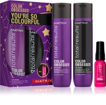 Matrix Total Results Color Obsessed zestaw upominkowy I. (do włosów farbowanych)