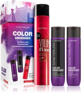 Matrix Total Results Color Obsessed dárková sada I. (pro barvené vlasy)