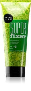 Matrix Style Link Super Fixer gel na vlasy silné zpevnění
