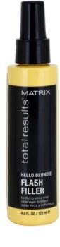 Matrix Total Results Hello Blondie spray sem enxaguar para cabelo loiro e grisalho