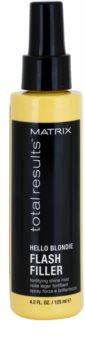 Matrix Total Results Hello Blondie spray sin aclarado para cabello rubio