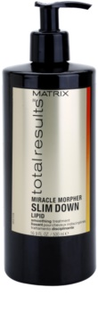 Matrix Total Results Miracle Morpher Slim Down Cuidado lipidico para cabelos crespos e inflexíveis