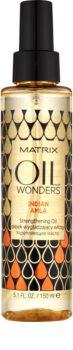 Matrix Oil Wonders Indian Amla megújító olaj a fénylő és selymes hajért