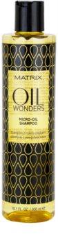 Matrix Oil Wonders Amazonian Murumuru champô micro oleoso  para cabelo brilhante e macio