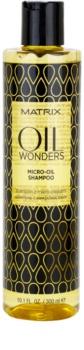 Matrix Oil Wonders Amazonian Murumuru champú con micro-aceites para dar brillo y suavidad al cabello