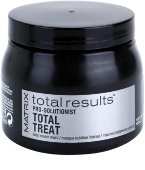Matrix Total Results Pro Solutionist máscara nutritiva para cabelos danificados e quimicamente tratados
